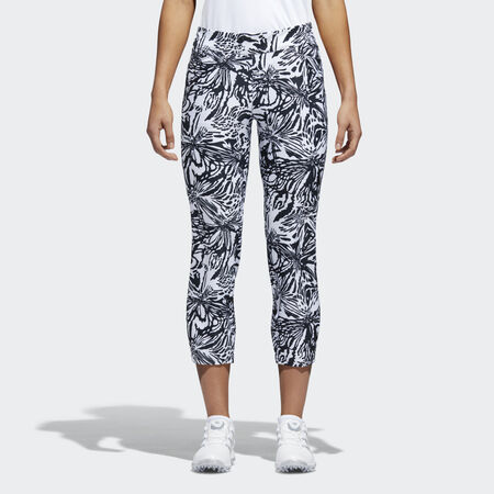 printed pull-on pant