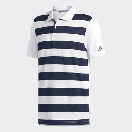 ultimate 365 engineered stripe polo
