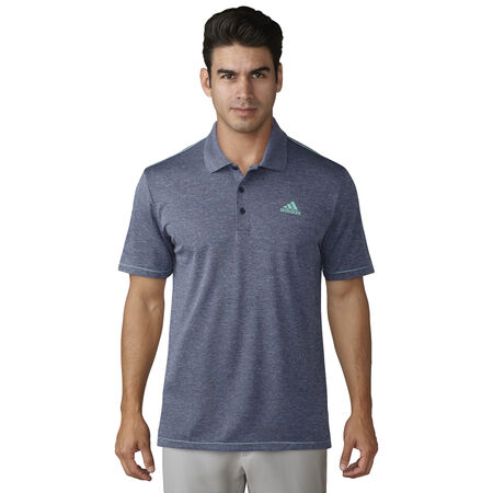 adidas advantage heather polo