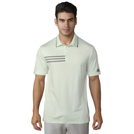 3-stripes chest pique polo