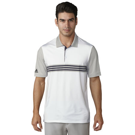 Ultimate 365 3-Stripe Engineered Polo